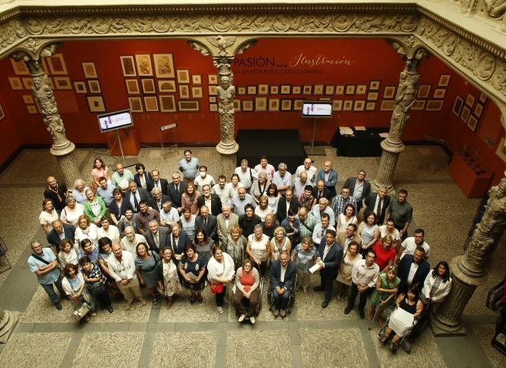 Firma de convenios sociales Fundación Ibercaja Fundación CAI 2016